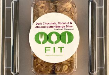 Dark Chocolate, Coconut & Almond Energy Bites