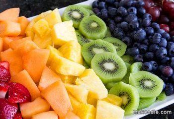 Fresh Fruit with Vanilla Greek Yogurt